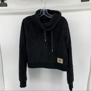 HOLLISTER SHERPA COWL NECK TOP